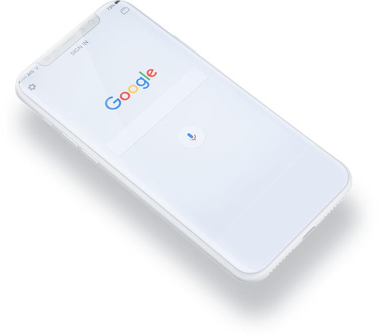 telefon-wyszukiwarka-google-siec-wyszukiwania