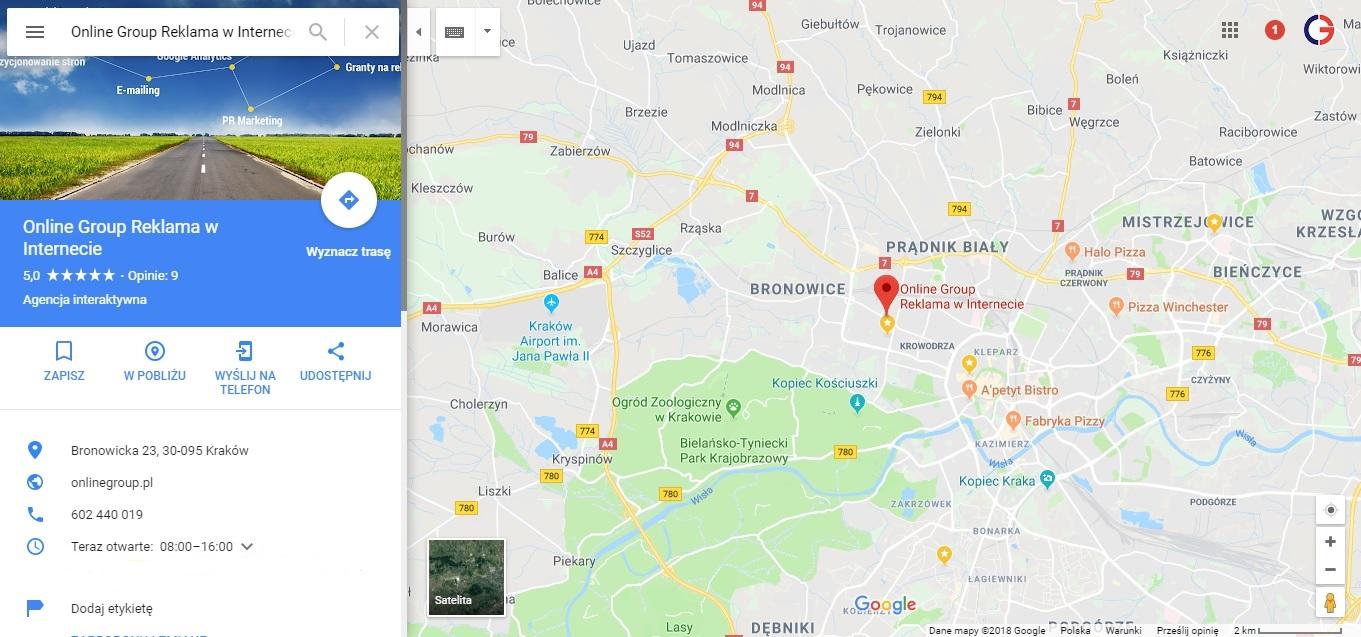 Mapy Google Krakow Google Maps Online Group Krakow