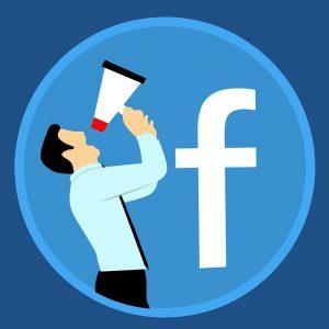 grafika-męzczyzna-i-megafon-facebook