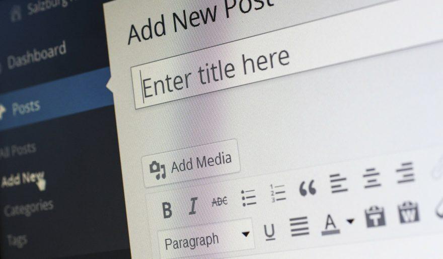 CMS Wordpress - dodawanie nowego postu