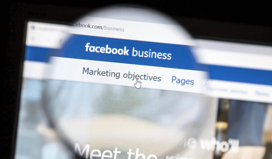 Facebook Business Manager strona początkowa